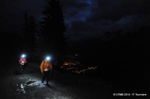 photo de l'ultra trail du mont blanc