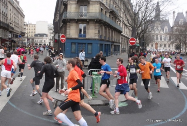 Semi marathon de Paris 2012