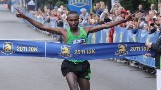 Geoffrey Mutai 10k Boston 2011