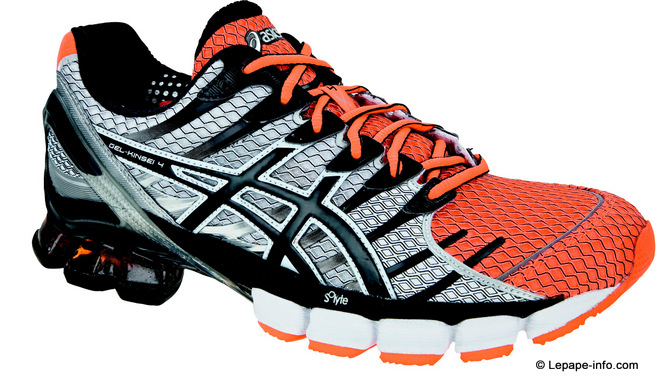 asics gel kinsei 4 orange