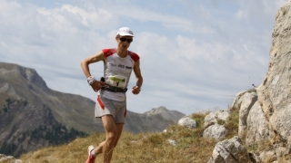Andy Symonds sur le Ubaye Salomon 2012