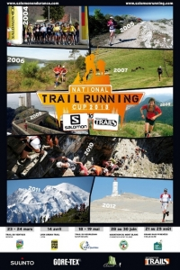 Affiche national Trail Running Cup 2013
