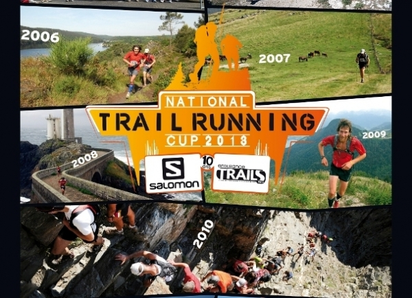 Affiche national Trail Running Cup 2013 coupée