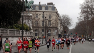 Semi marathon Paris 2012