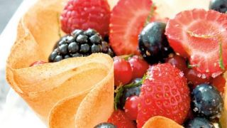 Craquants de fruits rouges à la mélisse _Philippe Dufour-Interfel