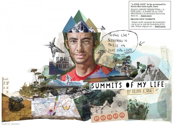 Le projet summit of my life de Kilian Jornet
