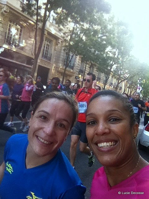 Lucie Decosse 20 km de Paris
