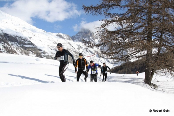 mbiance snow trail Ubaye Salomon 2013 photo Robert Goin