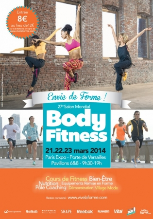 Le salon mondial body fitness du 21 au 23 mars 2014 for Salon body fitness