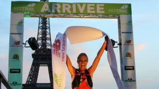 Eco Trail de Paris 2014 80 km Simona Morbelli