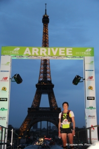 Eco Trail de Paris 2014 80 km Annabelle Souriau