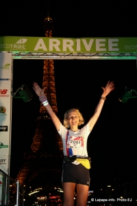 Eco Trail de Paris 2014 80 km Anouk Lahache