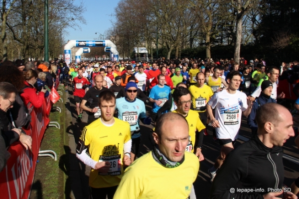 semi-marathon de Paris 2014