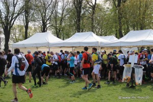 Eco-trail de Paris 2014 - saint cloud ravitaillement
