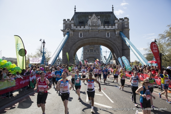 The Virgin Money London Marathon 2014