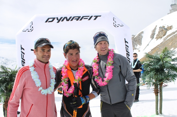Le podium du Dynafit X3 Courchevel