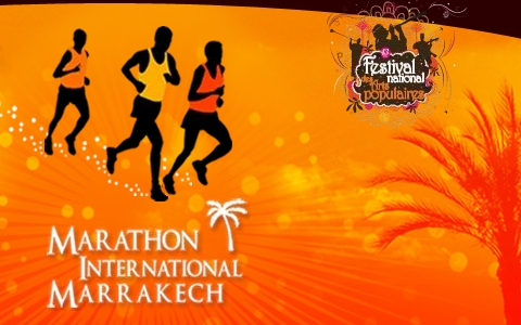 Affiche de Marathon & Semi Marathon International de Marrakech