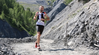 Greg Vollet 1er du 42 km trail Ubaye Salomon
