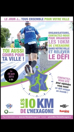 10 km de l'Hexagone - Affiche officielle