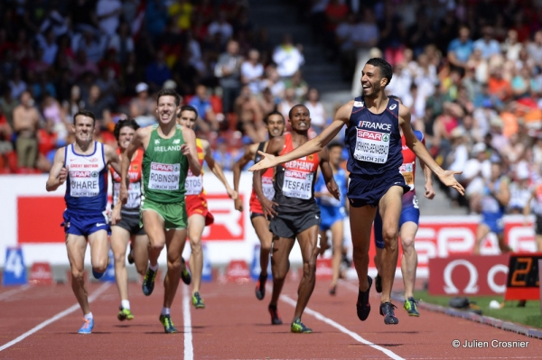 ATHLETICS - EUROPEAN CHAMPIONSHIPS ZURICH 2014 - DAY 6