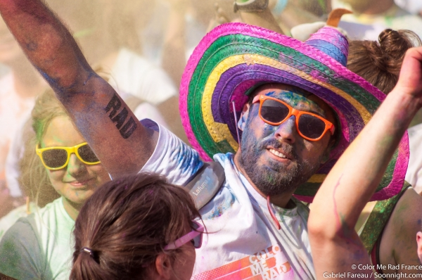 Color Me Rad Nantes 2014
