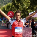Sylvain Court, champion de France de Trail 2014