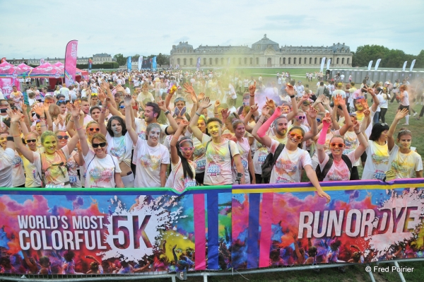 Run or Dye 2014 - Chantilly