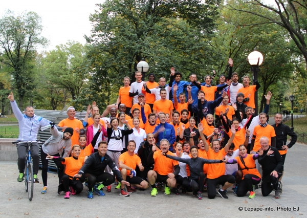 TCS NEW YORK CITY Marathon 2014 Paris Inn Group