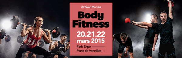Le salon mondial body fitness du 20 au 22 mars 2015 for Salon porte de versailles 30 mai 2015