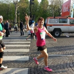 Maryse Le Gallo Marathon de Paris 2015