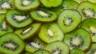kiwi fruit green nature background