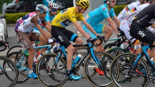 Christopher Froome (maillot jaune)