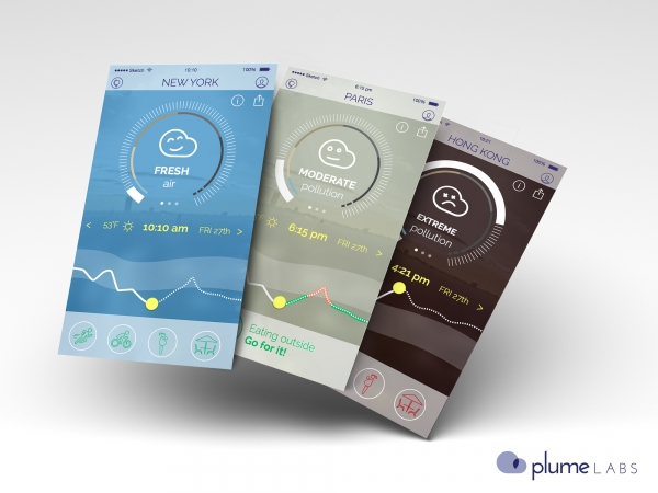 4. Around the world by Plume