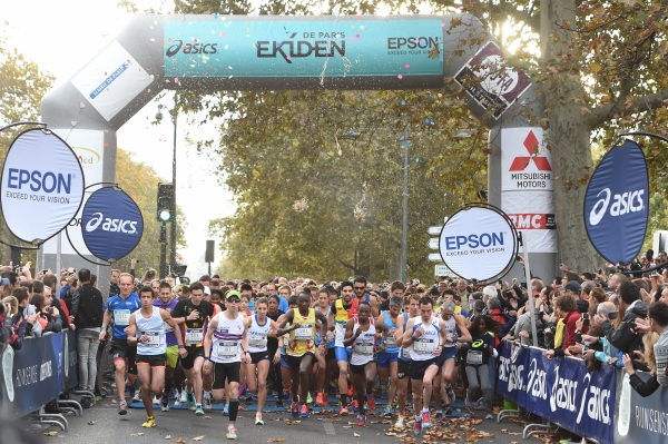 EKIDEN DE PARIS 2014 - PHOTO STEPHANE KEMPINAIRE/KMSP