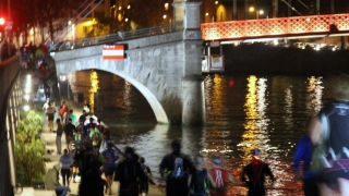 Lyon Urban Trail by night 2015