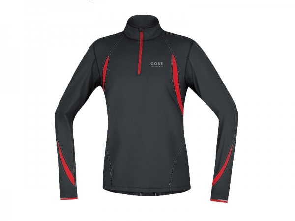 Gore Running Wear Maillot Air Zip Long