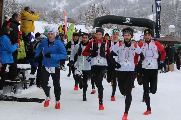 Ubaye snow trail 2016