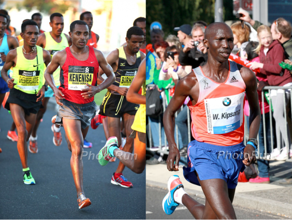 Kenenisa Bekele et Wilson Kipsang © Photo Run