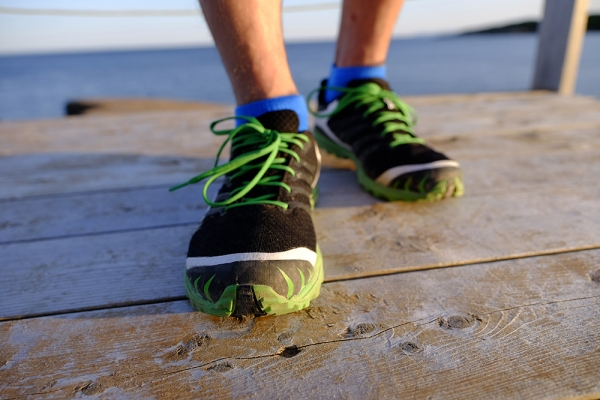 Running Shoes on deck | Free Stock Photos