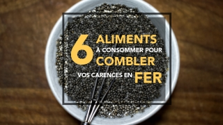 combler vos carences en fer