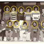 Equipe de france de cross country 1978 Championne du monde à Glasgow