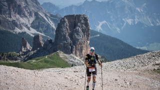 Zoom sur The North Face Lavaredo Ultra Trail