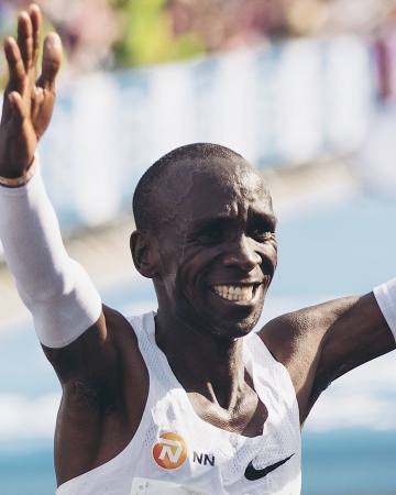Eliud Kipchoge (crédit photo Nike)