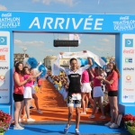 William Mennesson vainqueur du triathlon longue distance de Deauville 2019